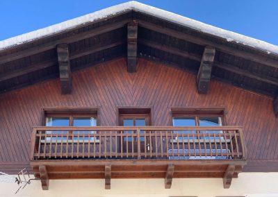 Le balcon du gite Le Boujou