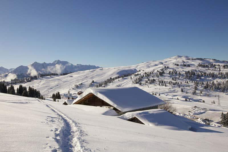 Domaine skiable les Saisies Espace Diamant