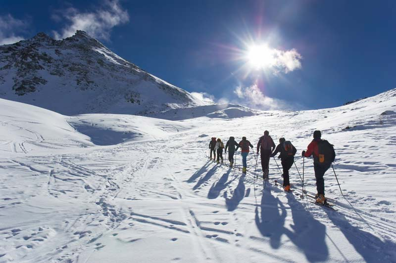 Balade en ski de randonnée
