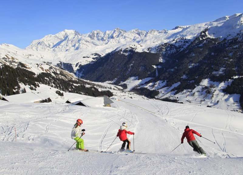 Ski alpin sur les Saisies Espace Diamant